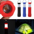 Camping Hiking Tent Light Lantern Mini Led Flashlight Torch Portable Night Light