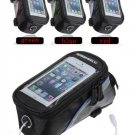 Bicycle Bike Frame Front Tube Bag For 4.2 Inch Cell Phone
