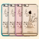 Highlight Electroplating Diamond Protection Case For iPhone 6 6S