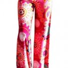 Vintage Casual Print Flower Wide Leg Trousers Pants