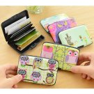 Owl Wallet ID Credit Business Card Purse Case Cute Pocket Holder