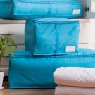 3pcs Portable Polyester Packing Luggage Clothes Quilts