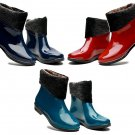 Ankle Short Non-slip Waterproof Wearproof Fashion Rubber Water Shoes Rain Boots