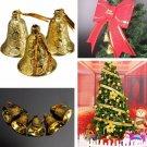 9pcs Christmas Hanging Jingle Bell Christmas Xmas Tree Decor