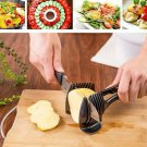 Multifunctional Handheld Tomato Round Slicer Fruit Vegetable Slicer Kitchen Tool