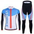 Unisex Cycling Clothing Suit Bicycle Bike Jersey Set Sportswear Suit Riding Clothes