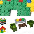 100X Fight Inserted Particles Children's Educational Building Blocks Plastic Toy