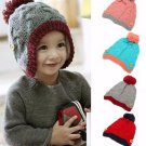 Winter Chic Beanie Crochet Knit Loosely Baby Girl Boy