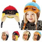 Winter Unisex Baby Earmuff Toddlers Warm Soft Beanie Earflap Hat