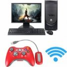 Wireless Game Remote Controller Powered USB Port for Microsoft Xbox 360 Console 4 Colors