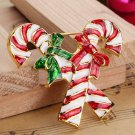 Different Styles Santa Socks Trees Alloy Christmas Brooch Pins For Christmas