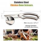 Stainless Steel Chicken Bone Scissors Multifunctional Kitchen Cutter