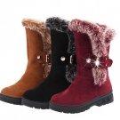 Winter Boots Ankle Short Boots Artificial Rubbit Fur