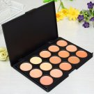 Professional 15 Colors Face Concealer Eyeshadow Cream Camouflage Cosmetic Makeup