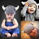 Unisex Knit Hat Cap Costume Christmas Party Gift Photography Prop Crochet Outfits
