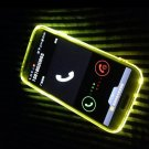 Multicolor Flash Light Incoming Call Flash Case Frame For Samsung S6/G9200