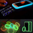 Universal Bumper Case Fluorescent Protective Silicone Bracelet For Mobile Phone