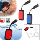 Mini Waterproof Underwater Sport Swimming MP3 Music Player With Earphone