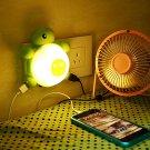LED Light Control Sound Sensor Cute Turtle Night Light Creative Socket USB Charging Lamp