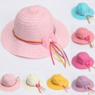 Summer Casual Hollow Cap Beach Sun Straw Kids Hat