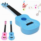 4 String Mini Plastic Acoustic Guitar Kids Musical Toy For Practice