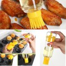 BBQ Brushes Bakeware Tools High Temperature Resistant With Oil Bottle Silicone Brush