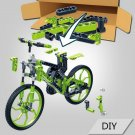 Mountain Bike Model Educational Building Blocks Assembled Toy