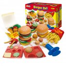 DIY Creative Hamburger French Fries Chicken Play Dough Tool For Children Kids