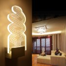 Creative Modern Acrylic Snake Shape LED Wall Lamp for Living Room Bedroom Corridor