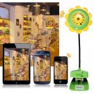 Sunflower Wireless WiFi IP Camera Video Monitor Night Vision for Smartphone