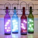 Micro Landscape LED Lucky Star Glass Bottles Light for Bar Coffee Home Decor