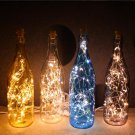 Modern Micro Landscape Glass Bottles LED Night Lights With USB Cable