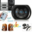 Wireless Bluetooth 3.5mm AUX Audio Stereo Music Speaker Mic Car Receiver Adapter