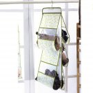 Two Side 5 Pocket Wall Door Hanging Storage Closet Organizer Container Holder