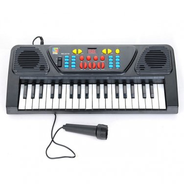 37 Key Electronic Keyboard Piano Musical Toy Mic Records