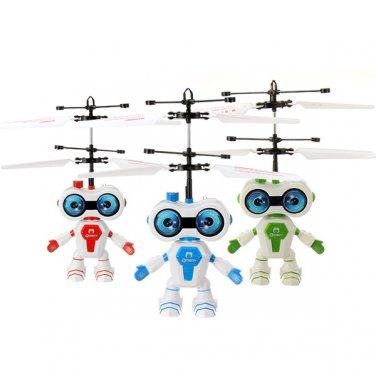 RC Induced Flying Big Eye Sensing Robot Aircraft