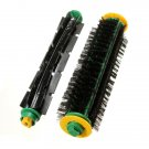 Bristle Brush + Flexible Beater Brush For irobot Roomba 500 Series 550 560 570