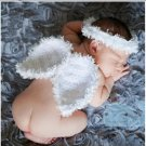 Crochet Knit Costume Photography Wings Angel Headbands