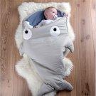 Shark Baby Sleeping Bags Newborn Winter Stroller Blanket Swaddle Bedding