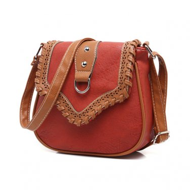 Casual Plaid Hollow Out Crossbody Shoulder Bags