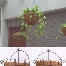 10inch Semicircular Wall Hanging Flowerpot