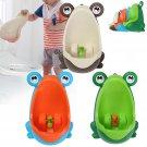 Lovely Frog Brush Cleaning Children Potty Toilet Training