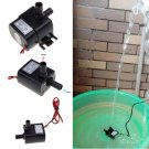 Ultra-quiet Mini DC 12V 3M 240L/H Brushless Motor Submersible Water Pump New