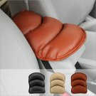 Universal Car Leather Armrest Central Console Pad Cushion Support Top Mat Cover