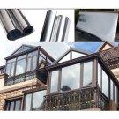 InsulationReflective Mirror Privacy Window Film HD Silver 1mx50cm