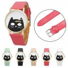 Cute Cat Unisex Analog Quartz Wrist Watch