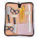 Barber Hair Scissors Cutting & Thinning Shears Comb Hairdressing Set Kit