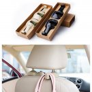 1 Pair Car Auto Delicate Seat Hanger Purse Bags Organizer Coat Holder Hook