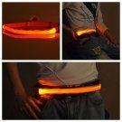 LED Light Belt Outdoor Running Riding Safety Warning flash Lights