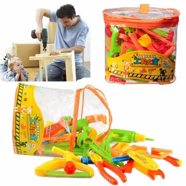 34pcs/set Learning&Education Children toys Repair tools
